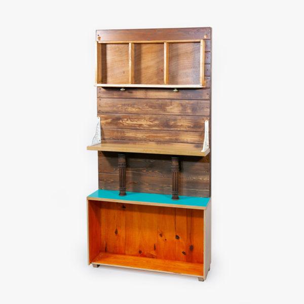 Étagère rangement original bois recyclé