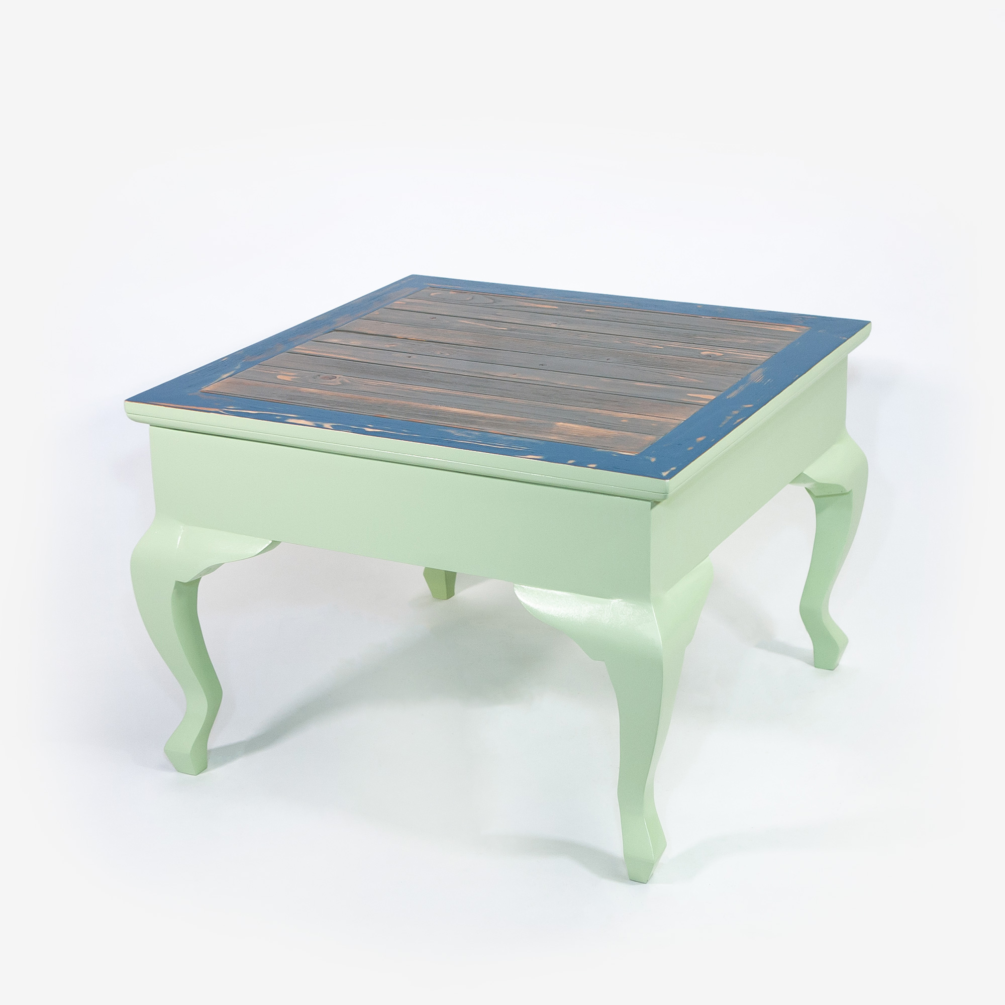 Table Basse Bois Vieilli.Table Basse Plymouth
