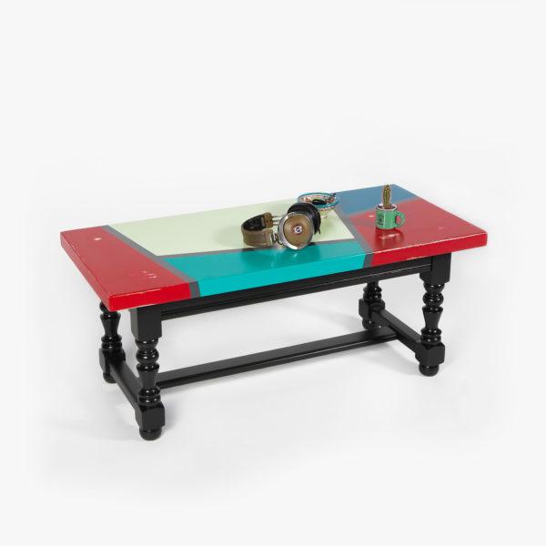 Table basse rectangulaire bois massif ethique