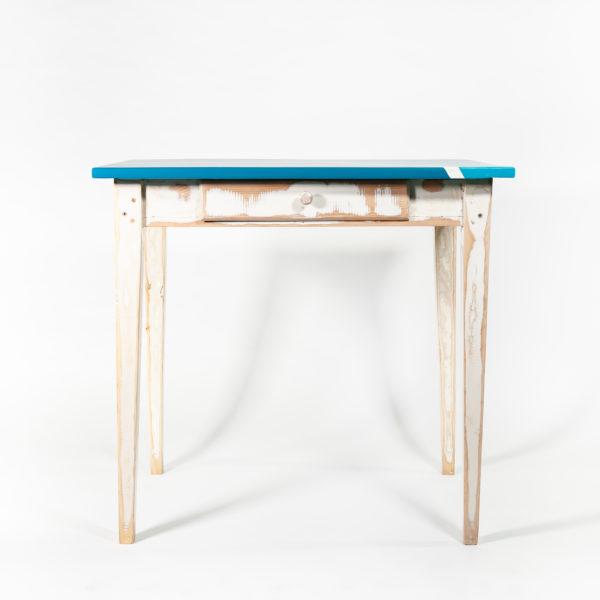 Table ancienne design bois massif meuble écoresponsable