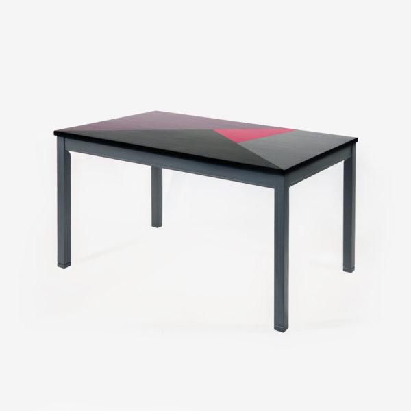Table de salle à manger bois massif design éthique