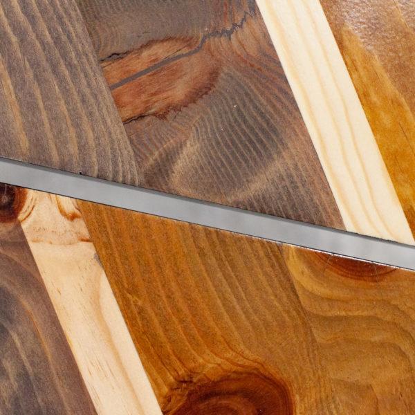 Tables de chevets design bois massif teint