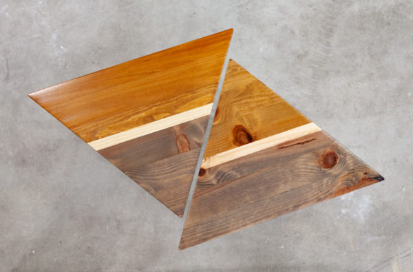 Chevets triangulaires design géométrique