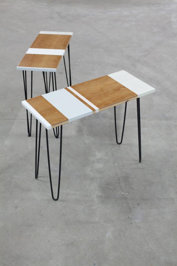 Consoles en bois au design scandinave vintage